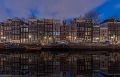 Singel Amsterdam op zaterdag 6 januari