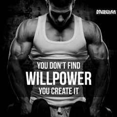 Best Health and Fitness Quotes : You Don't Find Willpower, You Create It life quotes quotes quote life workou… (omgquotes.com) Tags: quotes life love inspirational motivational