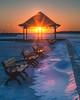 Bay Beach Park Sunset (aka Buddy) Tags: 2018 winter sunset bay beach park beachhaven nj og hdr