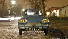 My Citroën Ami 8 Club (1970) (XBXG) Tags: 0953ms citroën ami 8 club 1970 citroënami8 citroënami ami8 bleu danube blue nightshot night shot nocturne nuit haarlem nederland holland netherlands paysbas vintage old classic french car auto automobile voiture ancienne française vehicle outdoor
