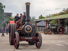 Bishops Castle Michaelmas fair (Ben Matthews1992) Tags: bishops castle michaelmas fair 2017 steam traction engine locomotive old vintage historic preserved preservation vehicle transport england shropshire salop britain british 1910 marshall challenger tm4430 7nhp foster winnie ma5730 6nhp agricultural general purpose