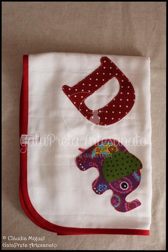 "Conjunto de maternidade ""Elefantes Coloridos"""