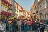 Tour Group Blockers (fotofrysk) Tags: oberelandstrasse street tourists tourgroup architecture buildings businesses krems easterneuropetrip melkkremscruise austria oesterreich sigma1750mmf28exdcoxhsm nikond7100 201709288942