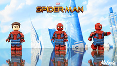 Spider-Man: Hero Suit (McLovin1309) Tags: spider man spiderman homecoming civil war captain america avengers avenger infinity marvel mcu comic comics custom lego minifig minifigure phoenix bricks customs figure fig spidey spooderman spoderman