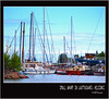 small wharf in lauttasaari (harrypwt) Tags: harrypwt helsinki e520 1454 estonia boat wharf sea framed