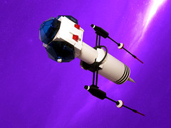 Futuron SX-318 (Crimso Giger) Tags: lego moc futuron space ship