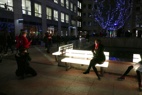 'Lightbenches' by LBO Lichtbank, Winter Lights 2018