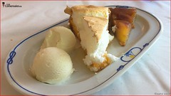 Tatin de manzana y tarta de limon - La peña (LosComensales.es) Tags: elcampello comunidadvalenciana españa