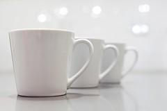 cups of joy (javan123) Tags: bright white bokeh coffee mugs mug dof caffeine