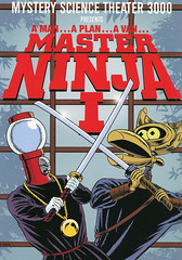 MST3K-Master-Ninja-I (Count_Strad) Tags: movie cover art coverart drama action horror comedy mystery scifi vhs dvd bluray mst3k mysterysciencetheater3000