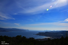 Galicia Landscape Cangas (Ismael Owen Sullivan) Tags: foto fotografia nature nikon naturaleza horizonte horizont landscape cangas galicia sea sky ria de vigo ocean mar