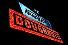 Krispy Kreme Sign (alexanderglerch) Tags: neon sign night atlanta georgia ga donuts