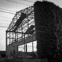 Urban (Asquillies) Tags: emmanueldasquilliesbe squared landscape urbex wasteland blackandwhite