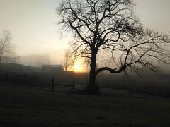 Sunrise over Pennington Gap,  VA (xandai) Tags: