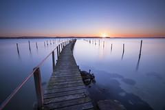 Poole Harbour Sunset (AshMashMash) Tags: poole harbour yacht boat pier sea scape landscape seascape sunset long exposure