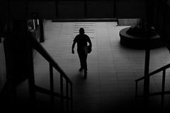 Chile | Santiago | Street (Medigore) Tags: sombras shadows white byn blanco black chile canont3i calle canon 1750 medigore sigma monocromático gente work street people life ngc geometría simetría líneas