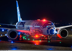 """Boeing 787-9 All Nippon Airways """"Star Wars"""" JA873A (Clément W. - Jet 4U Aviation Photography) Tags: boeing 7879 all nippon airways starwars ja873a lfpb lbg plane aircraft aviation photography"""