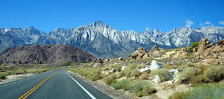 Mount Whitney and Alabama Hills, CA