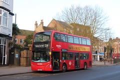 20180106 015 High Road, N12. AD Enviro400 TE912, LK58 COU (15038) Tags: buses lt londontransport northfinchley n12 highroad adenviro400 te912 lk58cou