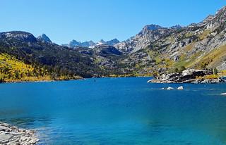 Lake Sabrina, Sierra Nevada Range, CA 10-17