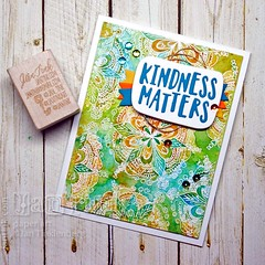 Kindness Matters with Doodle Flower Background (jantink2001) Tags: simonsaysstamp sssflickrchallenge92 joyclair pcc283 kindness