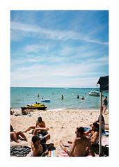 mjuii129494beach (jimmmyange) Tags: mju ii olympus point shoot kodak portra 160 melbourne saftey beach victoria australia summer 2018