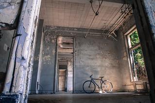 abandoned on Angel Island
