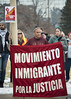 Protest in support of immigrants (Fibonacci Blue) Tags: stpaul protest rally march trump demonstration republican event gop dissent outcry activism outrage twincities activist minnesota immigrant immigration daca tps deportation immigrante banner sign