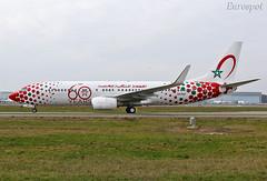 CN-RGV (@Eurospot) Tags: cnrgv toulouse blagnac royalairmaroc boeing 737