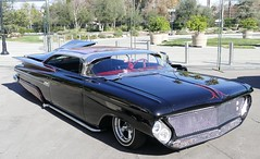 saturday drive in (bballchico) Tags: 1959 chevrolet custom lakepipes chopped grandnationalroadstershow carshow saturdaydrivein kustom