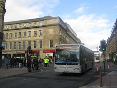 Go North East 5317 NK08MYG Grainger St, Newcastle on a diverted 27 (1280x960) (dearingbuspix) Tags: goahead gonortheast thecrusader nk08myg 5317
