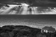 Lassù e quaggiù - (Torre dei Corsari) (nicolamarongiu) Tags: sunset tramonto torredeicorsari arbus sardegna italia landscape nuvole luce suggestione lassù