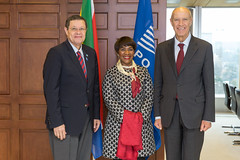 Director General Gurry Meets with South African Officials (WIPO | OMPI) Tags: wipo ompi francisgurry directorgeneral southafrica women ip womenandip