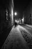 Oblivion (Koprek) Tags: ricoh gr streetphotography nightlight croatia snow winter cold wind february 2018 varaždin