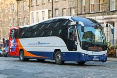 53702 OU10GYJ Stagecoach Fife (busmanscotland) Tags: 53702 ou10gyj stagecoach fife ou10 gyj volvo b9r plaxton elite thames transit east kent national express scotland