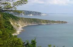 Dorset Coast, England (east med wanderer) Tags: dorset england uk thejurassiccoast durlstonhead swanagebay oldharryrocks southwestcoastpath