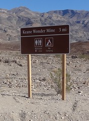 2017-11-18 Death Valley (141) (MadeIn1953) Tags: 2017 201711 california deathvalleynationalpark dvnp nationalpark keanewondermine sign minesite