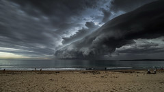 Storm Cloud Sydney Cronulla Beach (Tonitherese) Tags: storm beach cloud daarklands