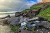 Vallina arco iris (@pabloralonso) Tags: playalavallina arcoiris rainbow rio river cascada water asturias landscape penta pentaxk3ii k3ii colors ngc beach playa