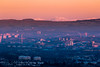 Glasgow Sunrise (dalejckelly) Tags: canon canon7dmarkii canon70300l scotland scottish visitscotland mountains mountain hill hills golden hour vista scenery scenic outdoor landscape landscapephotography glasgow city cityscape trossachs arrocharalps dumgoyne cathkinbraes sunrise winter