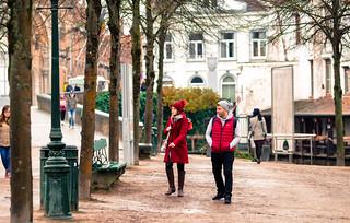 Tourism in Bruges / Belgium