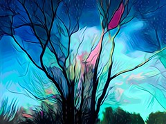 art comes in dreams too (larrynunziato) Tags: digitalart digitalpainting digitalgraphics abstracttree digitalabstract experimental surreal awardtree shockofthenew