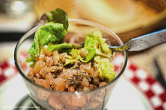 Salade de lentilles tièdes au dés de saumon.                                                                                                                                   _DSC0444L_v1 (Pascal Rey Photographies) Tags: food alimentation nourriture cooking cook cuisine cocina saumon lentilles nikon d700 luminar photographiecontemporaine photos photographie photography photograffik photographieurbaine photographiedigitale photographienumérique pascalreyphotographies restaurant entrée restauration recettes recipes