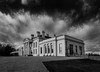 Hylands House (1 of 1) (selvagedavid38) Tags: essex hylands house park chelmsford home white black mono clouds