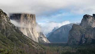 Low cloud on El Capitan
