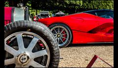 Bugatti Type 51 (1933) & Ferrari LaFerrari Aperta (2016) (Laurent DUCHENE) Tags: concoursofelegance hamptoncourtpalace 2017 car automobile automobiles bugatti type 51 type51 ferrari laferrari aperta
