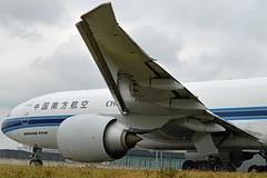 China Southern Cargo B-2010 Boeing 777-F1B cn/41634-1268 @ Taxiway Q EHAM / AMS 13-10-2016 (Nabil Molinari Photography) Tags: china southern cargo b2010 boeing 777f1b cn416341268 taxiway q eham ams 13102016