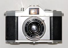 Pentona II (pho-Tony) Tags: photosofcameras pentona ii pentonaii priomat trioplan ddr meyeroptik gorlitz 3545 45mm f35 eastgerman eastgermany viewfinder zeiss ikon zeissikon