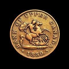 Upper Canada 1850 (Kevin@Nugent) Tags: coins macro stilllife numismatics detail money fuji hs25 london ontario