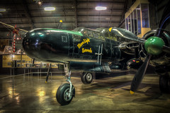 MoonLight Serenade (donnieking1811) Tags: ohio dayton nationalmuseumoftheusairforce p61blackwidow moonlightserenade aircraft fighter nightfighter propellars northrop unitedstatesarmyairforce museum hdr canon 60d lightroom photomatixpro